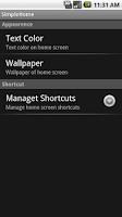Screenshot of SimpleHome