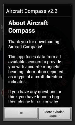 【免費生產應用App】Aircraft Compass-APP點子