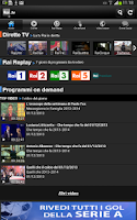 Screenshot of Rai TV