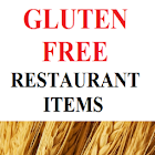 Gluten Free Restaurant Items icon