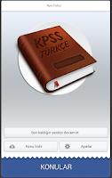 Screenshot of Kpss Türkçe