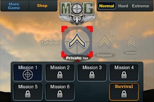 Screenshot of Medal of Gunner