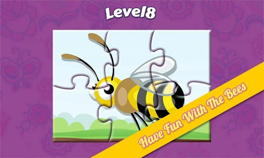 Honey Bees Game For Kids- screenshot thumbnail