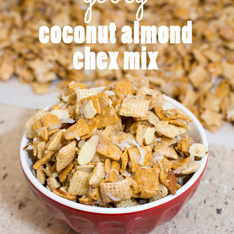 Gooey Coconut Almond Chex Mix