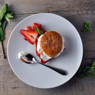 Balsamic Strawberry Shortcake Recipes