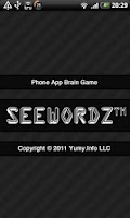 Screenshot of SeeWordz™ Brain Game Free