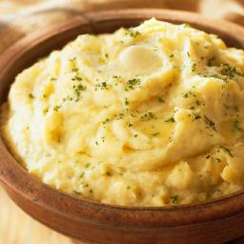 Boursin and Parsley Mashed Potatoes