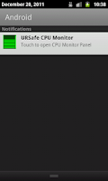 Screenshot of URSafe CPU Monitor