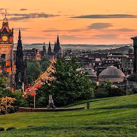 edinburgh by Haddouchi Tarik - City,  Street & Park  City Parks ( calton hill, scotland, uk, edinburgh, photooftheday,  )