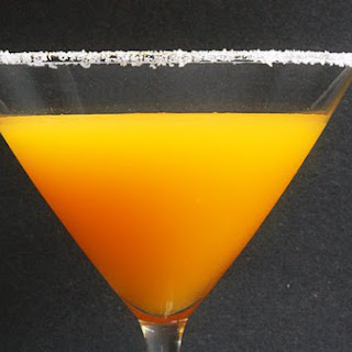 Spicy Passion Fruit Martini