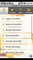 Screenshot of Fruit Smoothies