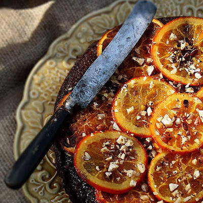 Honey, Orange And Hazelnut Cake