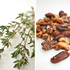 Sweet and Savory Spiced Nuts