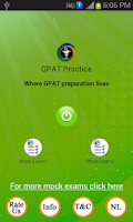 Screenshot of GPAT Practice