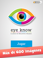 Screenshot of Eye Know: Quiz con imágenes