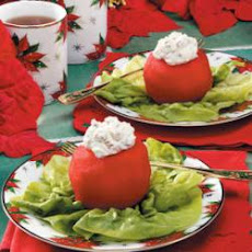 Rosy Red Christmas Apples