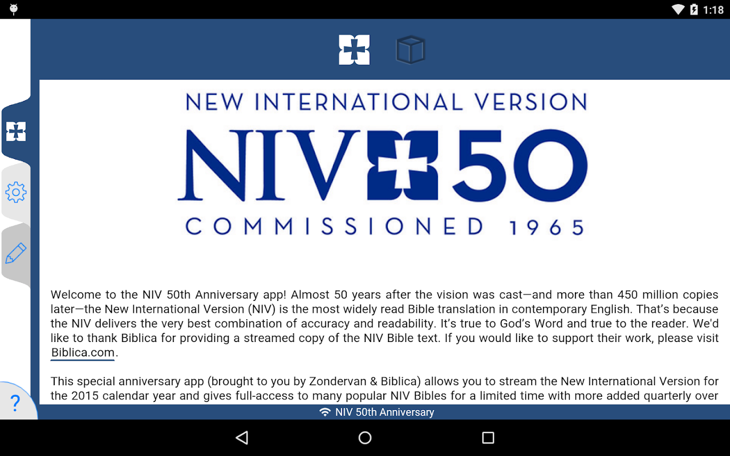 NIV 50th Anniversary Bible Screenshot 14