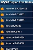 Screenshot of DVD Region Free Codes