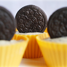 mini oreo cheesecake by Esther Mui - Food & Drink Cooking & Baking (  )