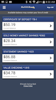 Screenshot of El Dorado Savings Bank Mobile