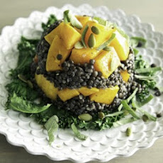 Maple Roasted Butternut Tian with Quinoa