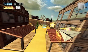 Screenshot of My Paper Plane 3 (3D) Lite