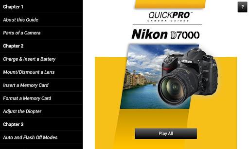 Guide to Nikon D7000