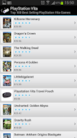 Screenshot of Best Selling Video Games