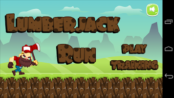 Screenshot of Lumberjack Run