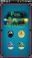 Screenshot of Pool Billard Manager