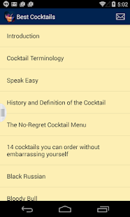 Top Cocktails Around The World - screenshot