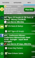 Screenshot of Pocket Sportsbook - Bookie App
