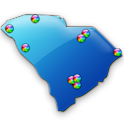 South Carolina Fishing Maps 9K icon