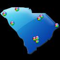 South Carolina Fishing Maps 9K