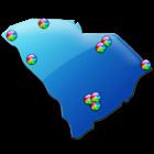 South Carolina Fishing Maps 9K icon