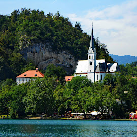 Bled 3 - Slovenia by Andjela Miljan - Landscapes Waterscapes