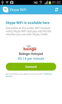Skype WiFi APK screenshot thumbnail 3