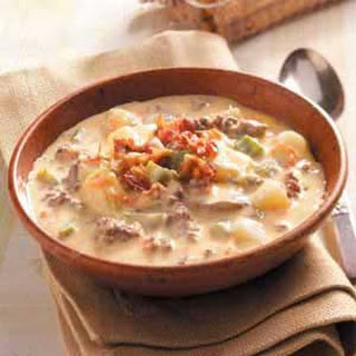 Cheeseburger Paradise Soup