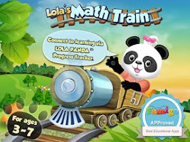 Screenshot of Lola's Math Train