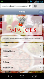 Papa Joe's - screenshot