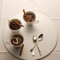 Lighter Chocolate Cinnamon Pudding