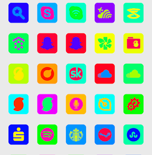 Color Madness UI - Icon Pack - screenshot