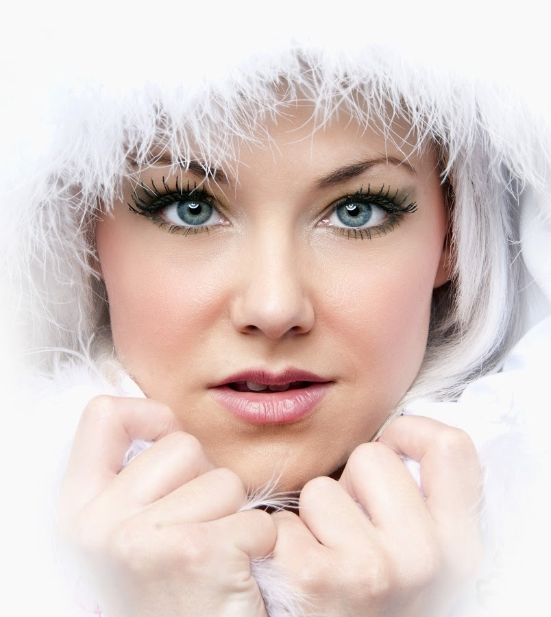 Natalie by Bob Richards - People Portraits of Women ( model, girl, warm, snug, cold, white )