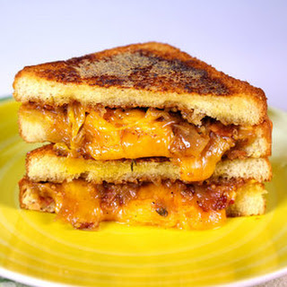 Grilled Cheese with Bacon-Onion Jam