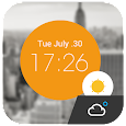 Weather Clock Cool Widget APK Version 4.4_release
