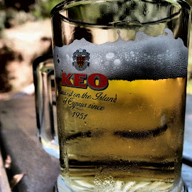 Brewed in the island of Cyprus! by Theodoros Theodorou - Food & Drink Alcohol & Drinks ( beer, keo, local beer, cyprus )