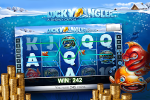 Screenshot of Angler Slot Machines Pokies