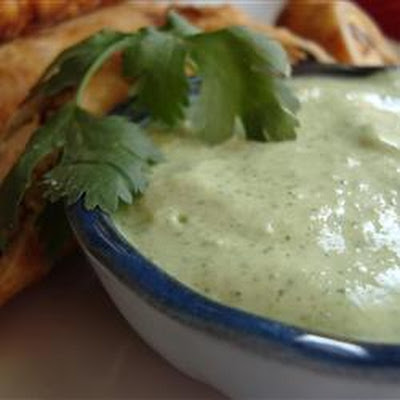 Amy's Cilantro Cream Sauce
