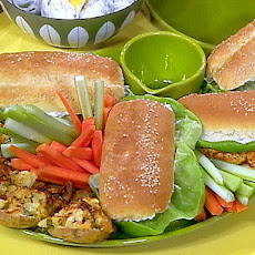 Hot Buffalo Chicken Sandwiches