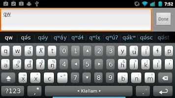 Screenshot of Plugin Klallam